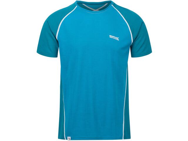 Regatta Tornell II Camiseta Hombre, olympic teal/gulfstream